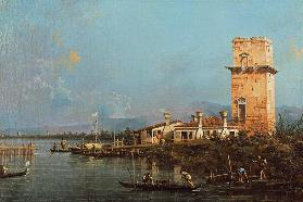 La Torre di Malghera (oil on canvas)
