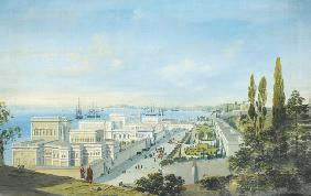 The Ciragan Palace in Constantinople