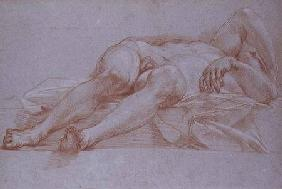 Study for the Figure of Sisera