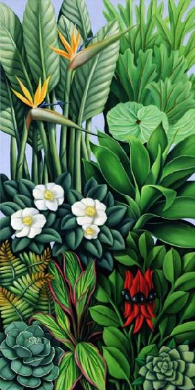 Foliage II, 2005 (oil on canvas)  - Catherine  Abel