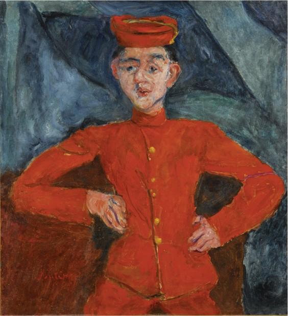 Chaim soutine alle kunstdrukken schilderijen van for Chaim soutine