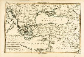 Turkey, from 'Atlas de Toutes les Parties Connues du Globe Terrestre' by Guillaume Raynal (1713-96)
