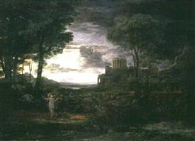 Landscape with Jacob Wrestling with the Angel, or Night