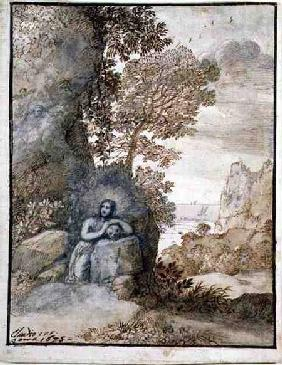 Landscape with the Magdalene