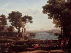 Landscape with the Marriage of Isaac and Rebekah (The Mill)
