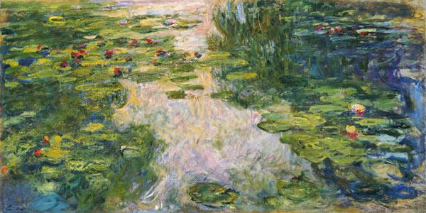 Waterlelievijver Claude Monet