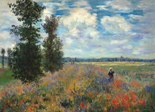 Papaverveld Claude Monet