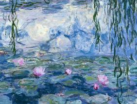 Waterlilies, 1916-19 (detail of 161015)