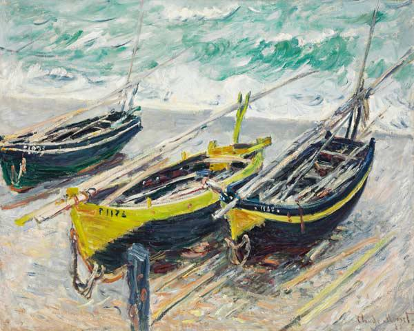 Three Fishing Boats