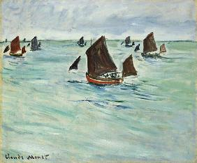 Fishing Boats at Pourville