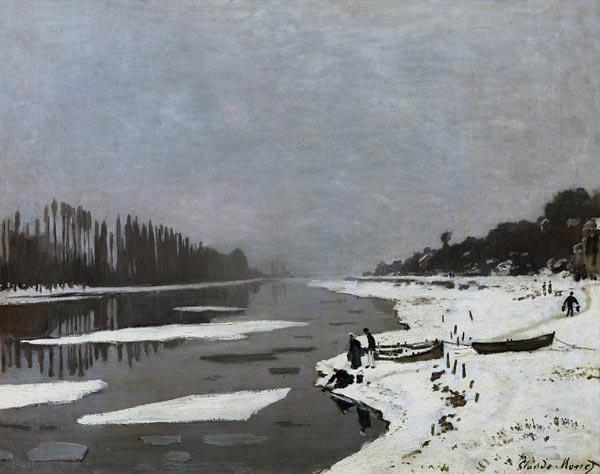 Ice on the Seine at Bougival