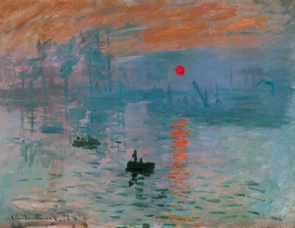 Impression Sunrise van Claude Monet