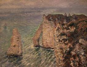 L'Aiguille and the Porte d'Aval, Etretat