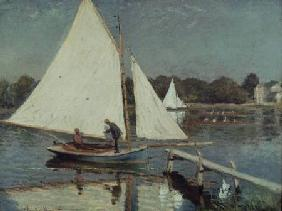 Sailing at Argenteuil