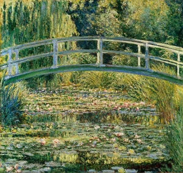 water lelies Giverny Claude Monet