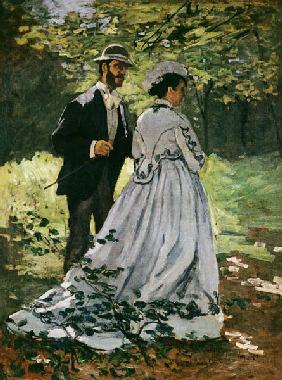 The Promenaders, or Bazille and Camille
