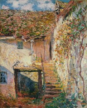 De trap Claude Monet