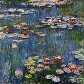 Waterlelies Claude Monet