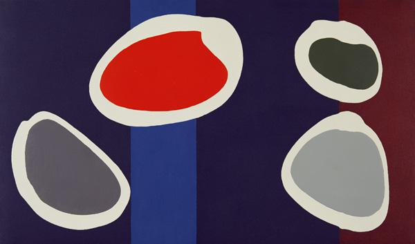 Go Discs, 1999 (acrylic on canvas) (pair with 146091)