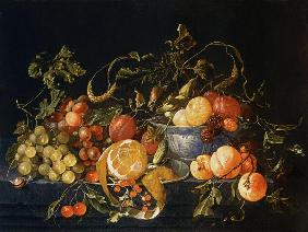 A Still Life of Fruit