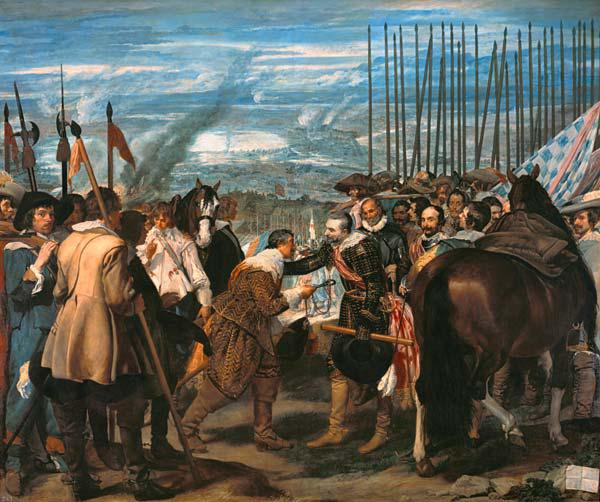 Velazquez / Surrender of Breda / 1635