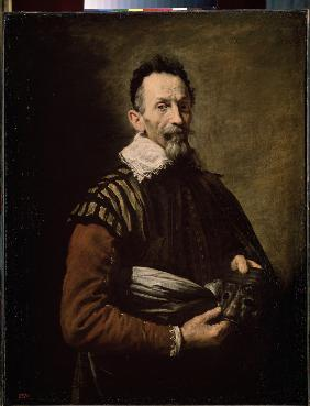 Portrait of an Actor (Claudio Monteverdi, Tristano Martinelli or Francesco Andreini)
