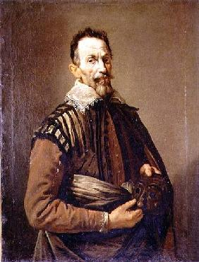Portrait of Claudio Monteverdi (1567-1643)