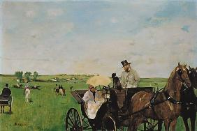 Carriage at a race