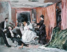 The Dressing Room of Hortense Schneider (1833-1920) at the Theatre des Varietes