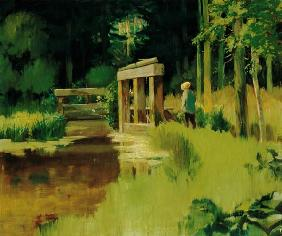 Edouard Manet - In a Park