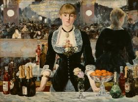 Edouard Manet - Bar in den Folies Bergeres.