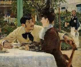 Edouard Manet - Paar bei P�re Lathuille