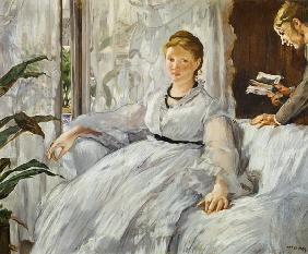 Edouard Manet - Reading