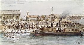 The Inauguration of the Suez Canal the Empress Eugenie (1826-1920) 17th November 1869