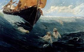 The Mermaid's Rock, 1894 (oil on canvas)