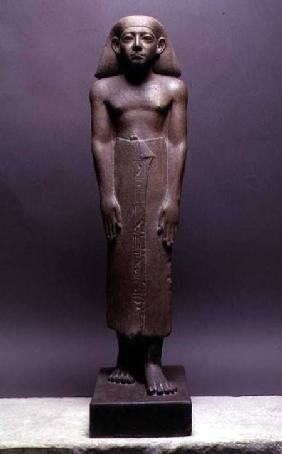Statuette of Amenemhatankh, worker at Crocodilopolis (Fayum) from the reign of Amenemhat III, Middle