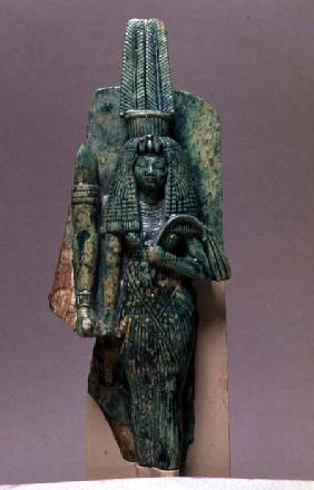 Statuette of Queen Tiy, wife of Amenophis III, New Kingdom