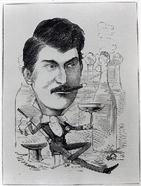 George Leybourne, The Original ''Champagne Charlie'', illustration from ''The Entr''acte'', August 2