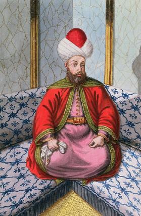 Orkhan (1288-1359), Sultan 1326-59, from 'A Series of Portraits of the Emperors of Turkey'