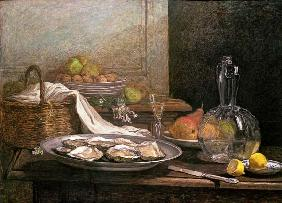 Still Life with Oysters