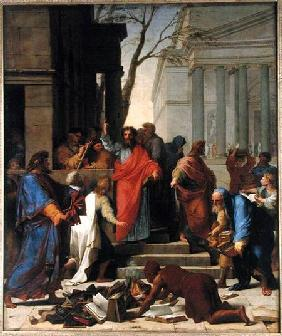 The Sermon of St. Paul at Ephesus