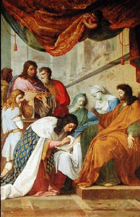 St. Louis Healing the Sick