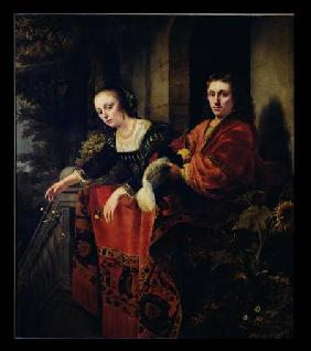 Portrait of a Husband and Wife