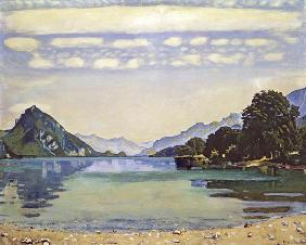 Thunersee at Leissigen