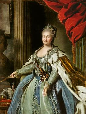 Portrait of Catherine II (1729-96)