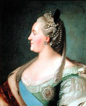 Portrait of Empress Catherine II the Great (1729-96)