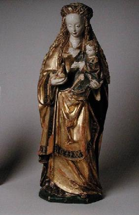 Madonna and Child, School of Mechelen