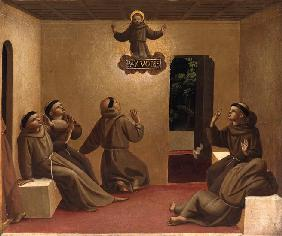 Apparition of Saint Francis at Arles (Scenes from the life of Saint Francis of Assisi)