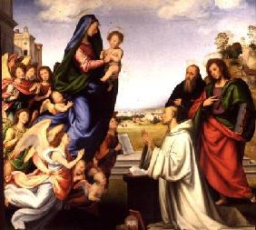 Apparition of the Virgin to St. Bernard