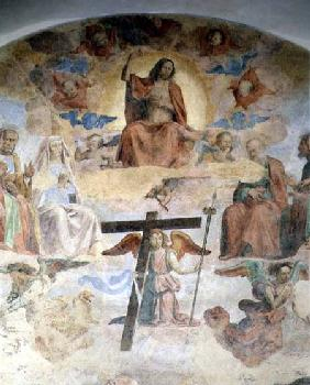 The Last Judgement, detail depicting Christ in Majesty